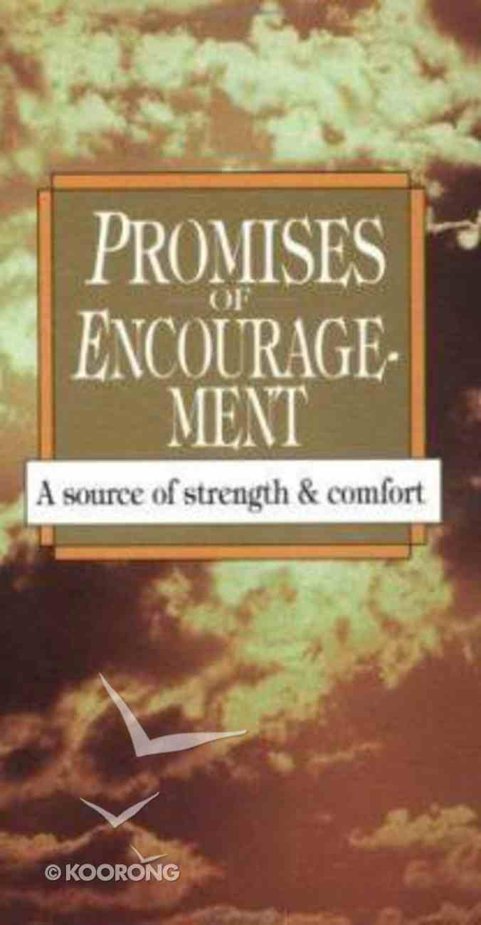 Promises of Encouragement Paperback