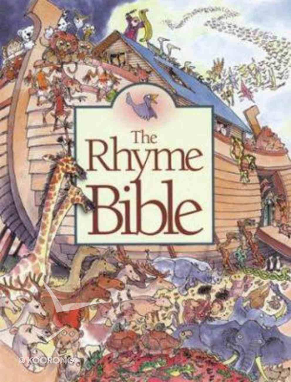 The Rhyme Bible Hardback