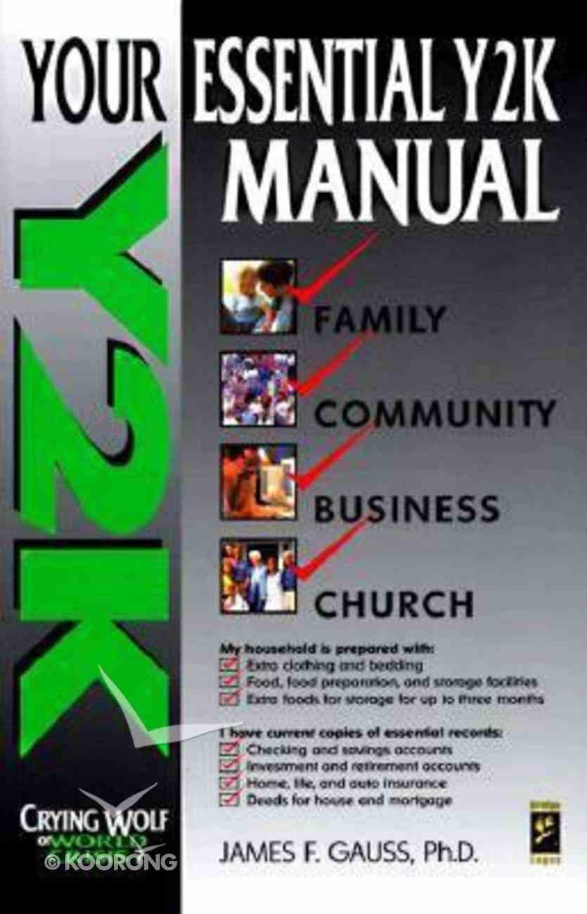 Your Essential Y2K Manual Paperback