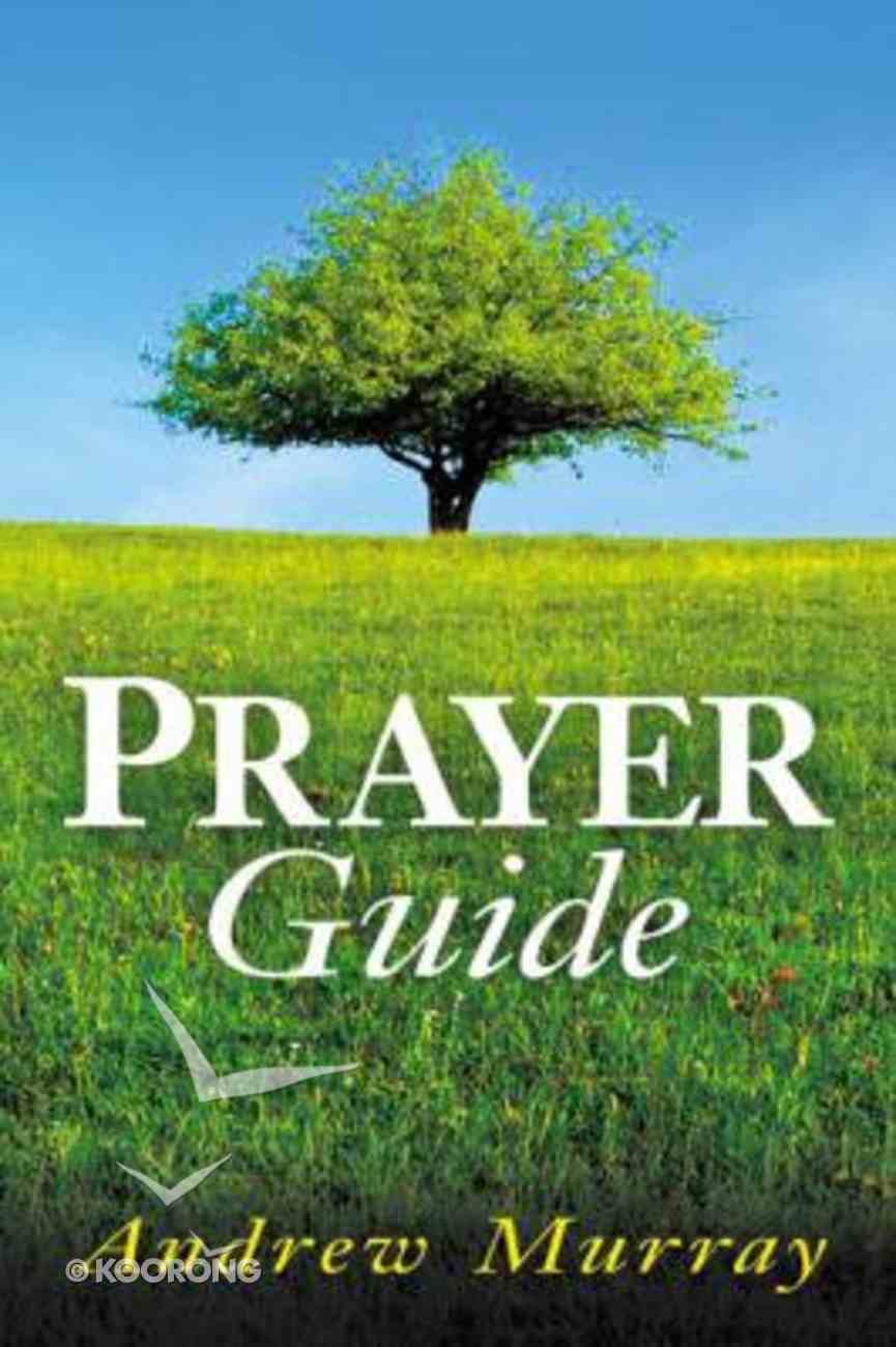 Prayer Guide Paperback