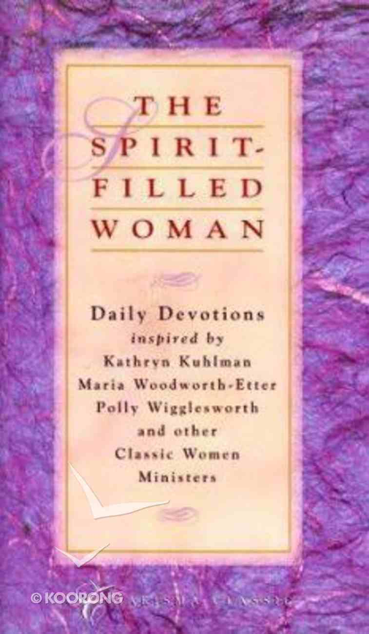Spirit Filled Woman Hardback