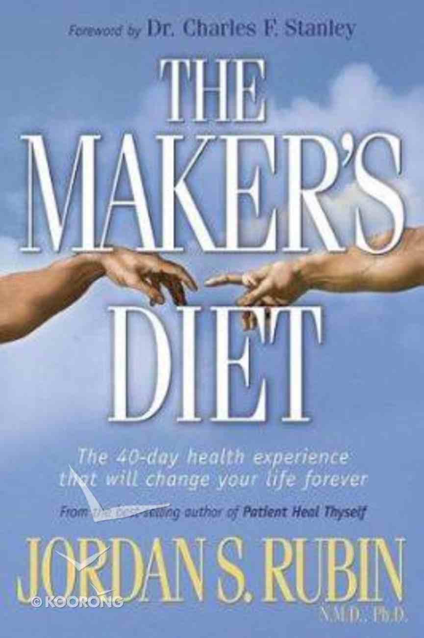 The Maker's Diet Hardback