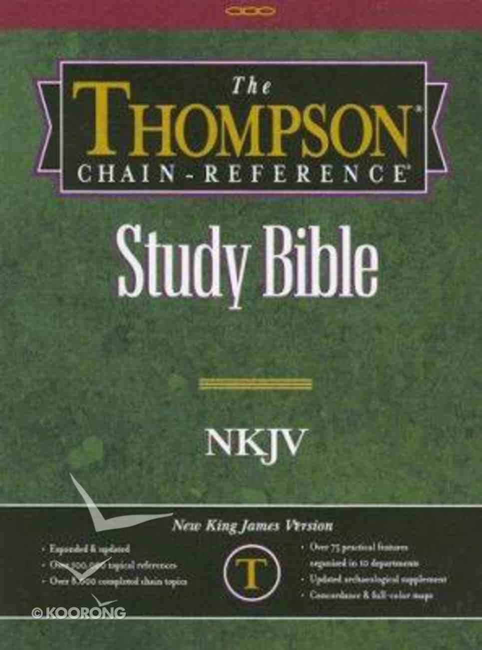 NKJV Thompson Chain Reference Gray Skateboard Index Imitation Leather