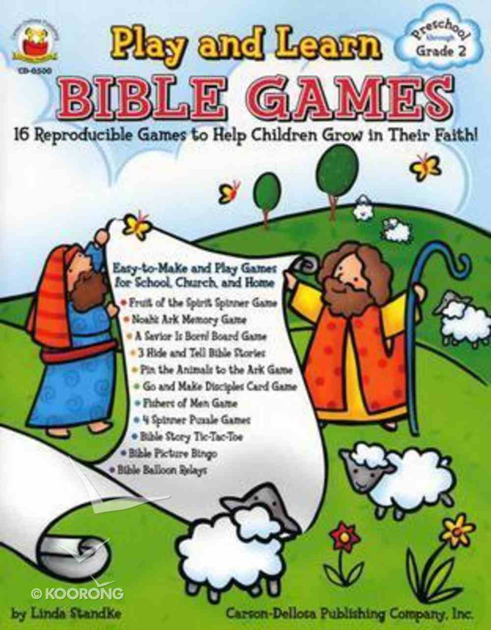 Play and Learn Bible Games (Reproducible) Paperback