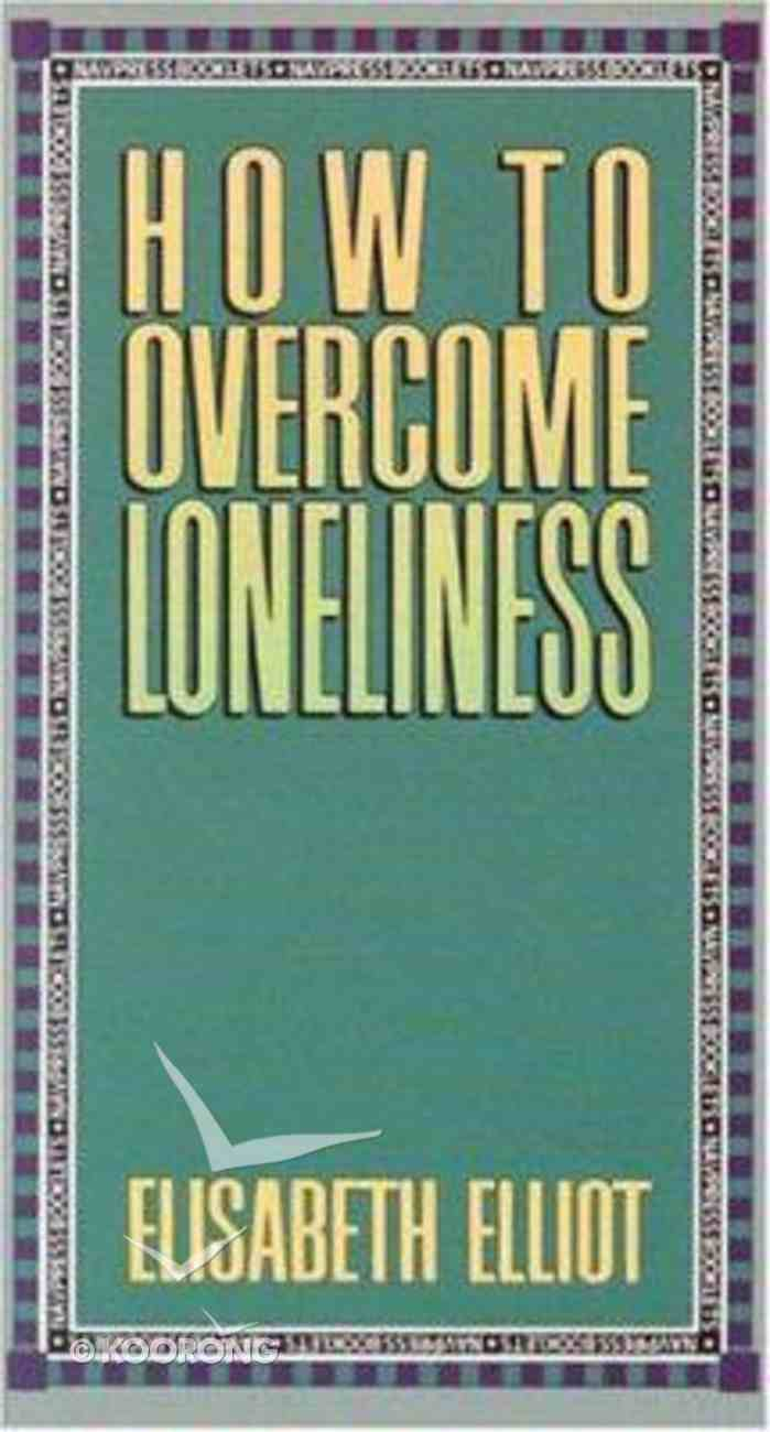 How to Overcome Loneliness Booklet