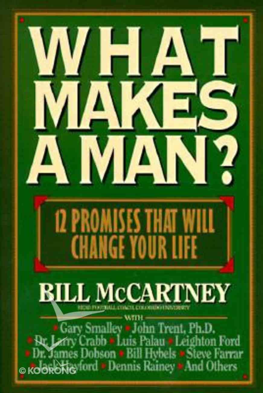 What Makes a Man? Hardback