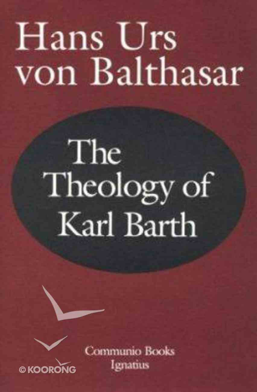 The Theology of Karl Barth Paperback