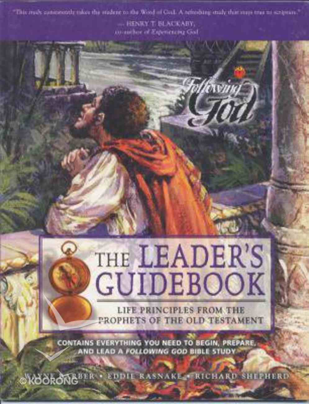 Life Principles From the Prophets of the Old Testament (Leader's Guide) (Following God: Character Builders Series) Paperback