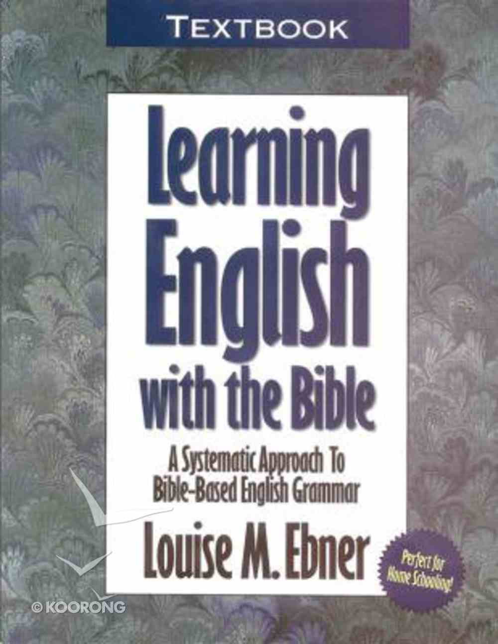 Learning English With the Bible (Textbook) Paperback