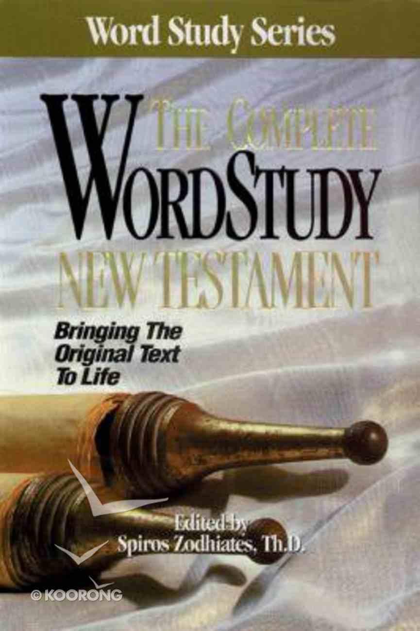 The Complete Word Study New Testament Hardback