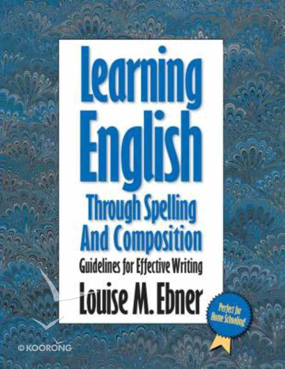 Learning English Through Spelling and Composition Paperback