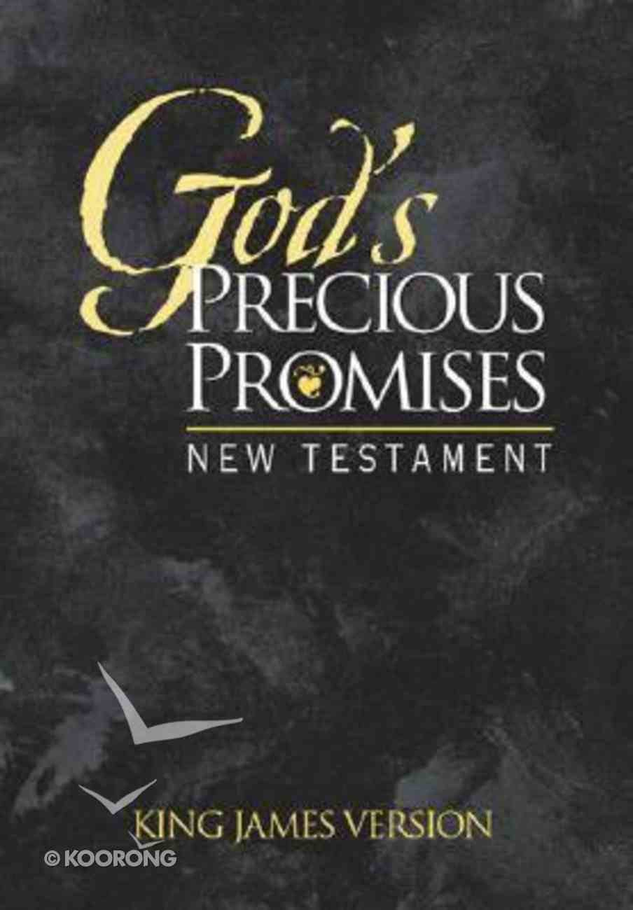 KJV God's Precious Promises New Testament Black Paperback
