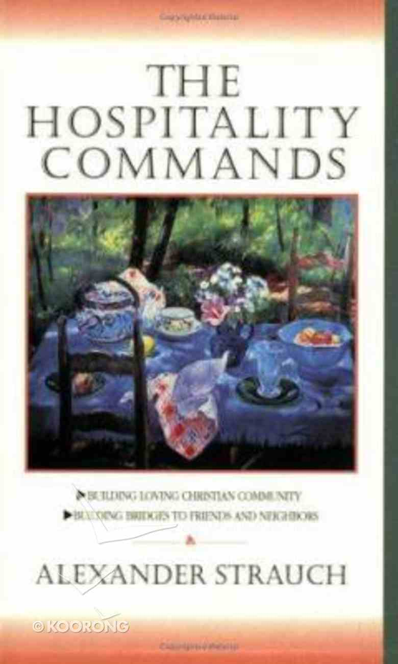 The Hospitality Commands Paperback