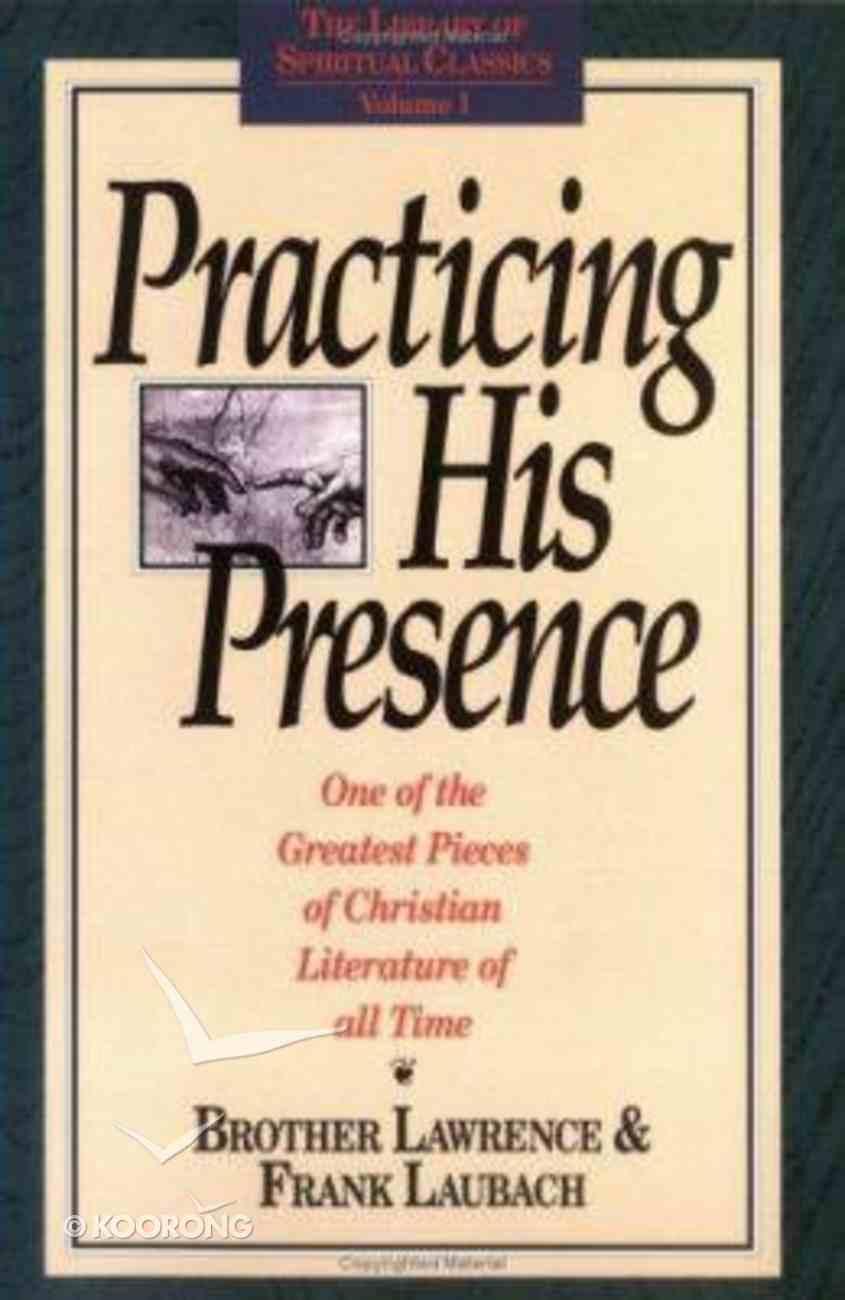 Practising His Presence Paperback
