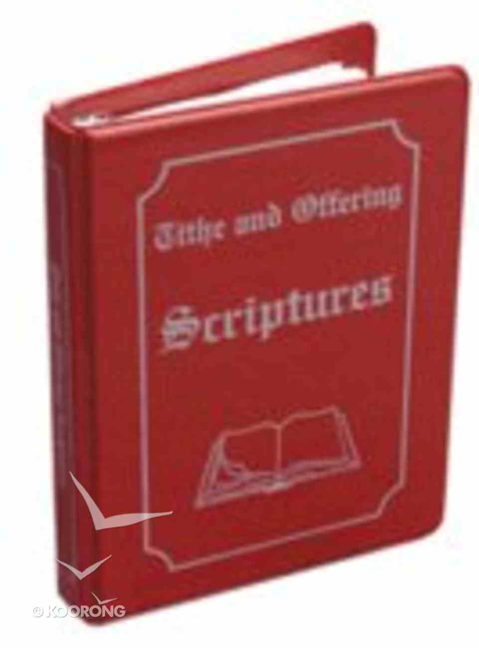 Tithe and Offering Scripture #01 Hardback
