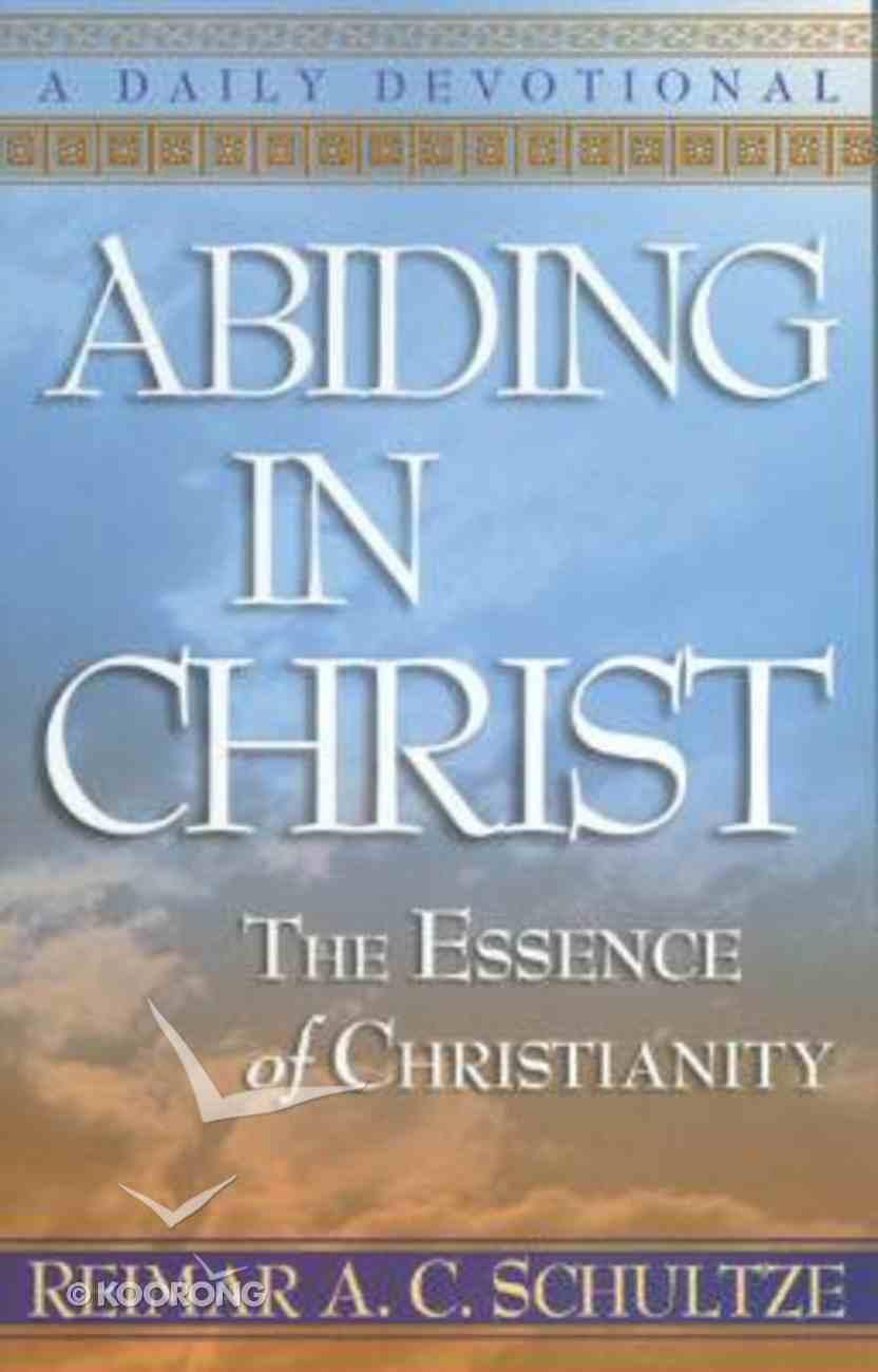 Abiding in Christ Paperback