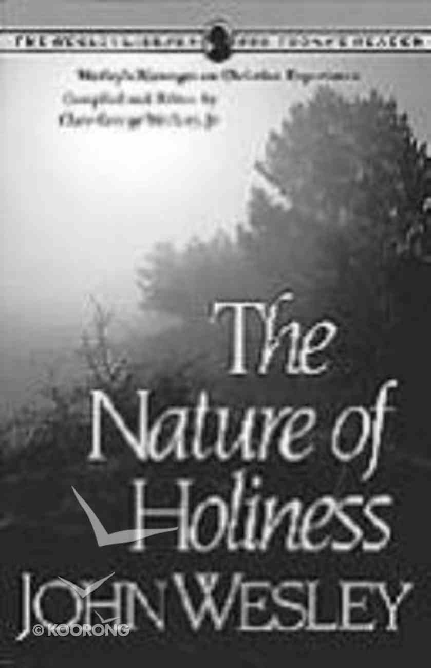 The Nature of Holiness Paperback