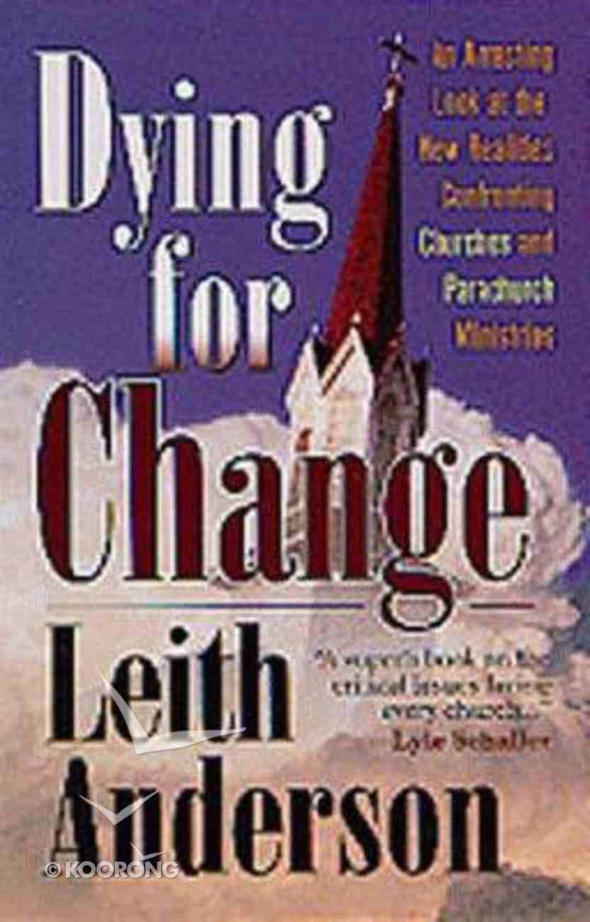 Dying For Change Paperback
