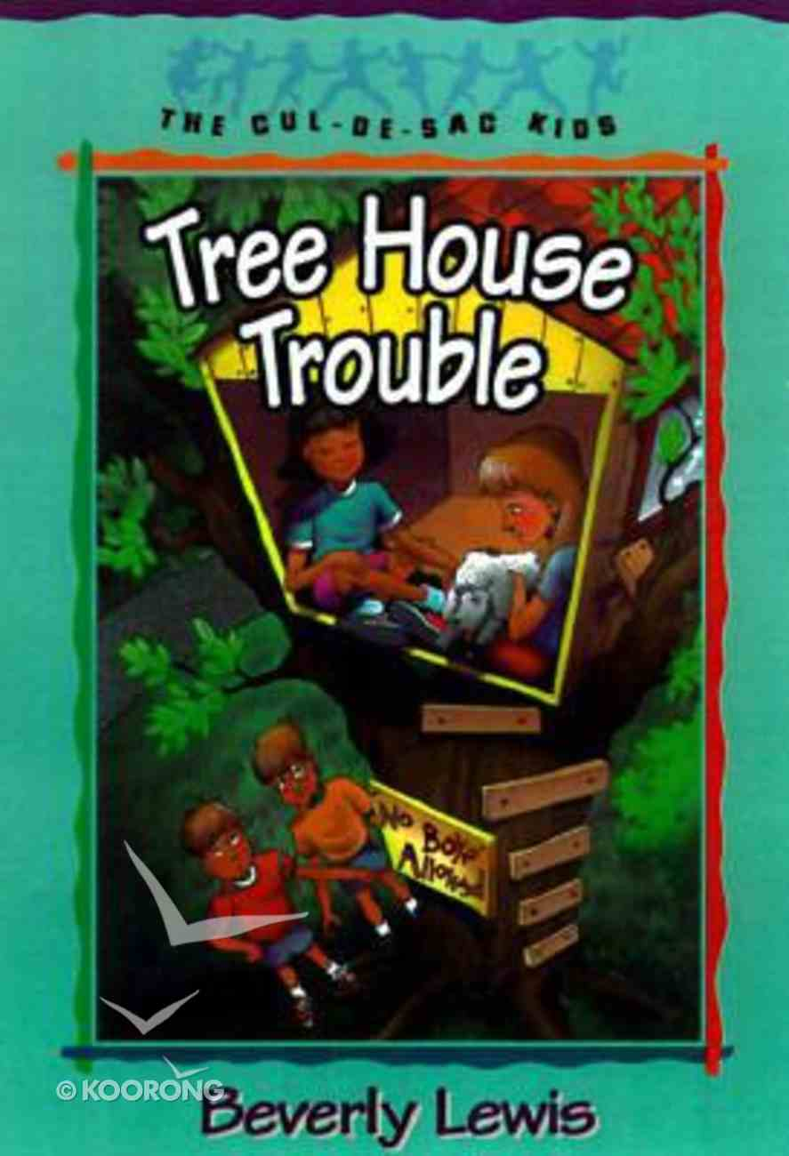 Tree House Trouble (#16 in Cul-de-sac Kids Series) Paperback