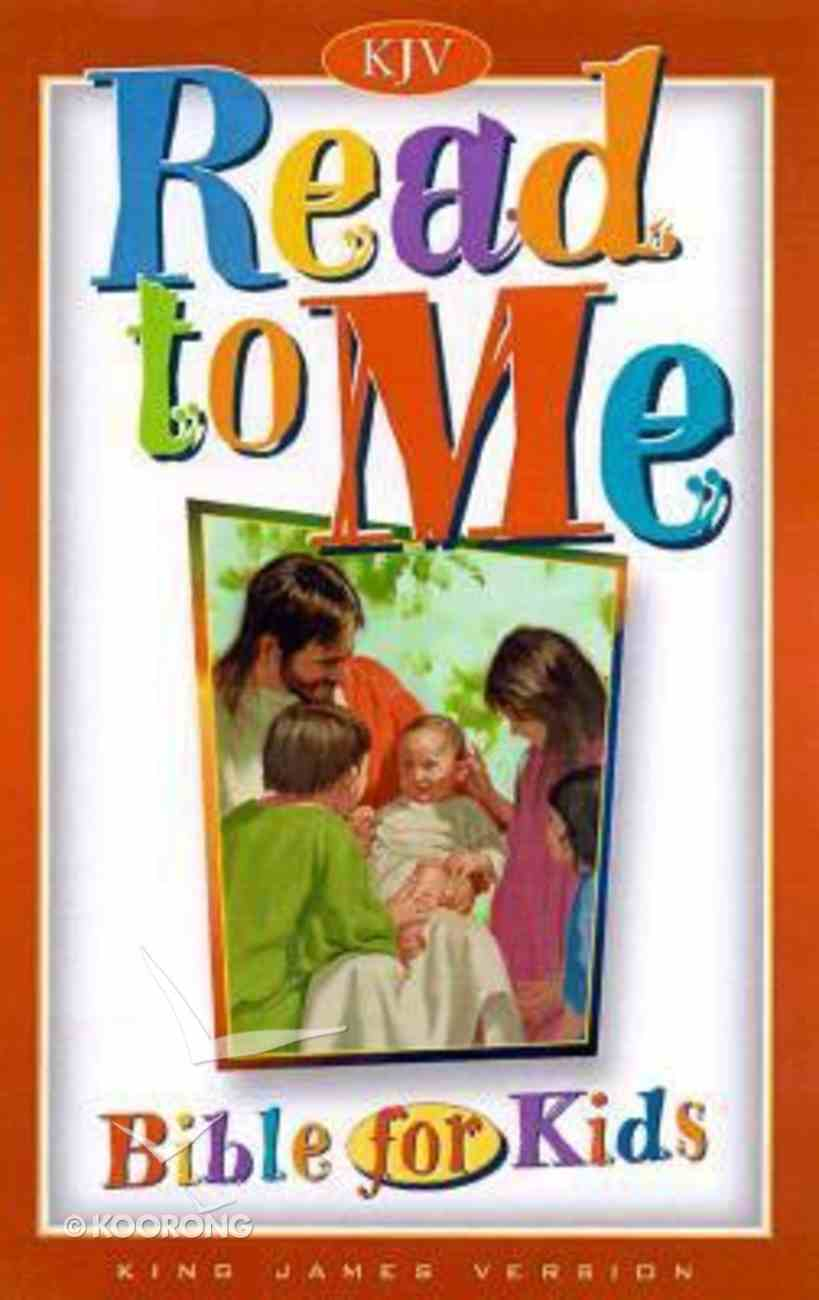 KJV Read to Me Bible For Kids Hardback