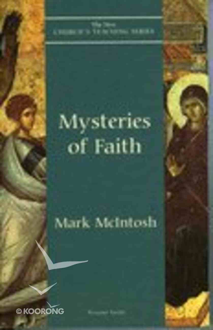 Mysteries of Faith Paperback