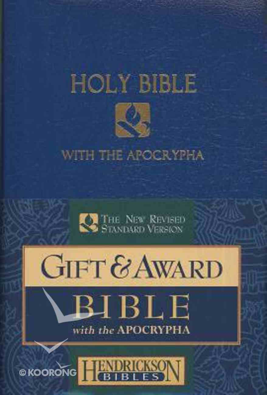 NRSV Gift & Award Bible With Apocrypha Blue Imitation Leather