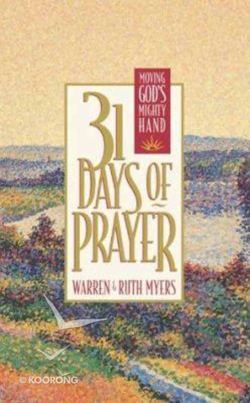31 Days of Prayer Hardback