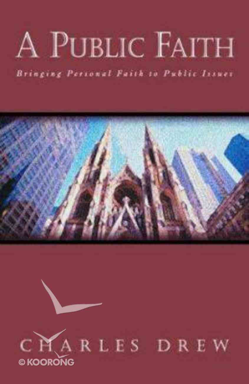 Public Faith Paperback
