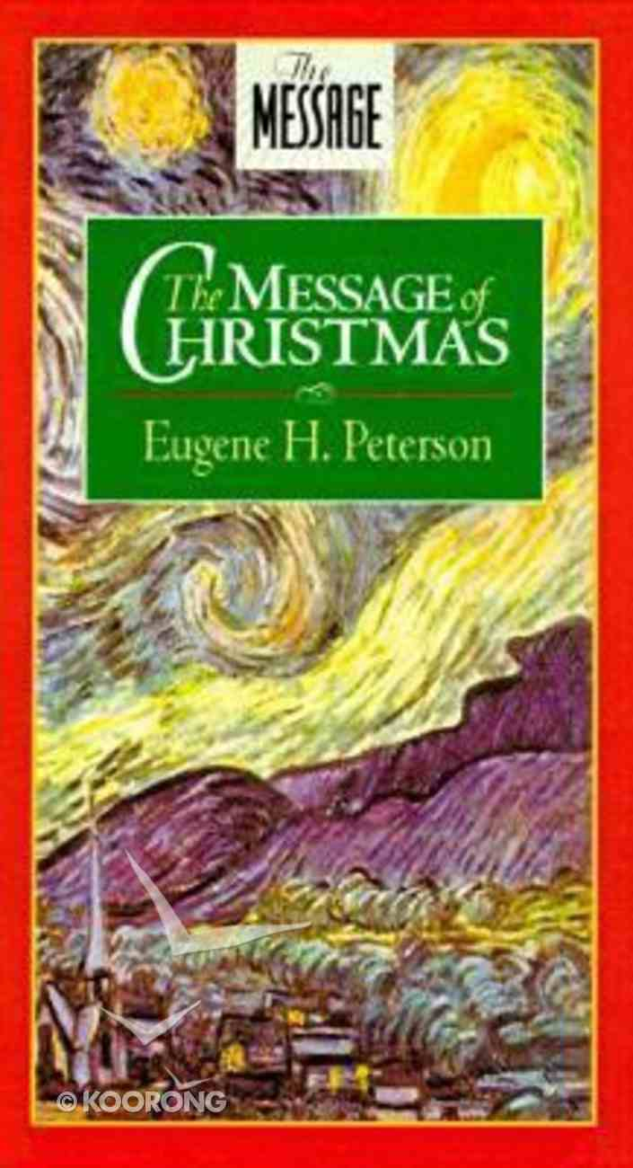 The Message of Christmas Booklet