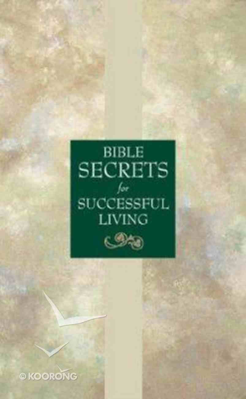 Bible Secrets For Successful Living Paperback
