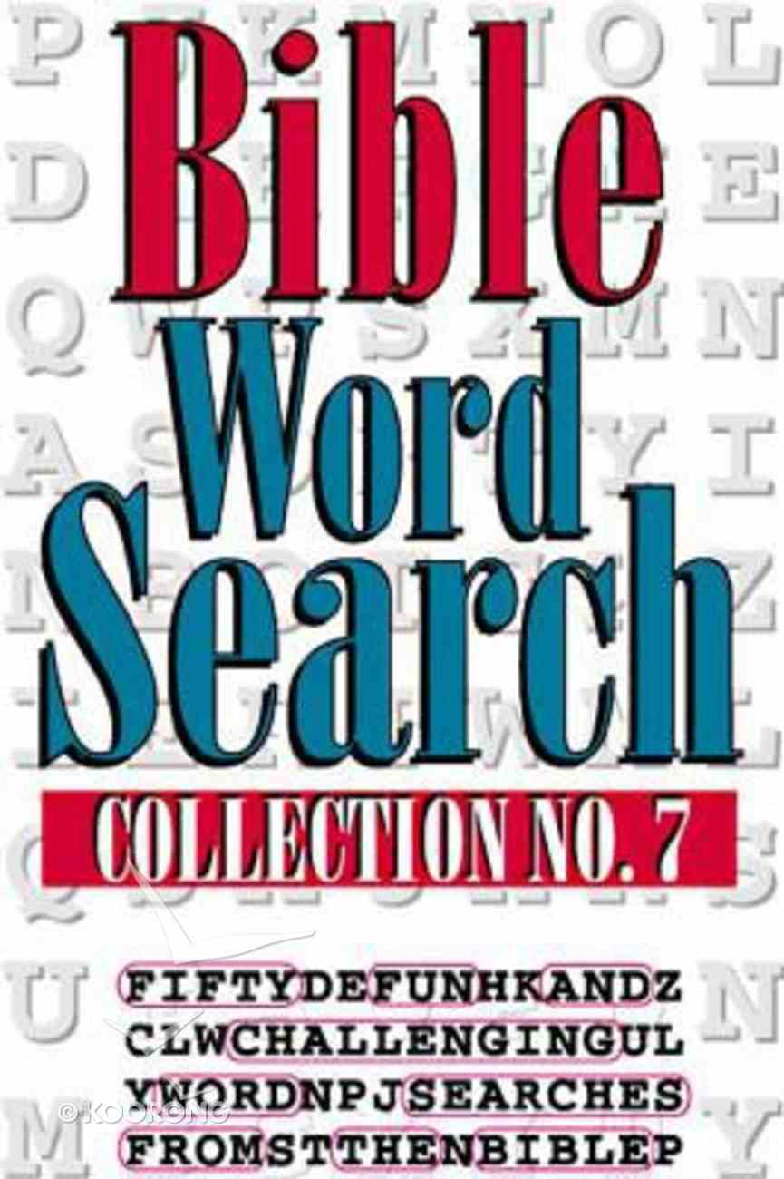 Bible Word Search 7 Paperback