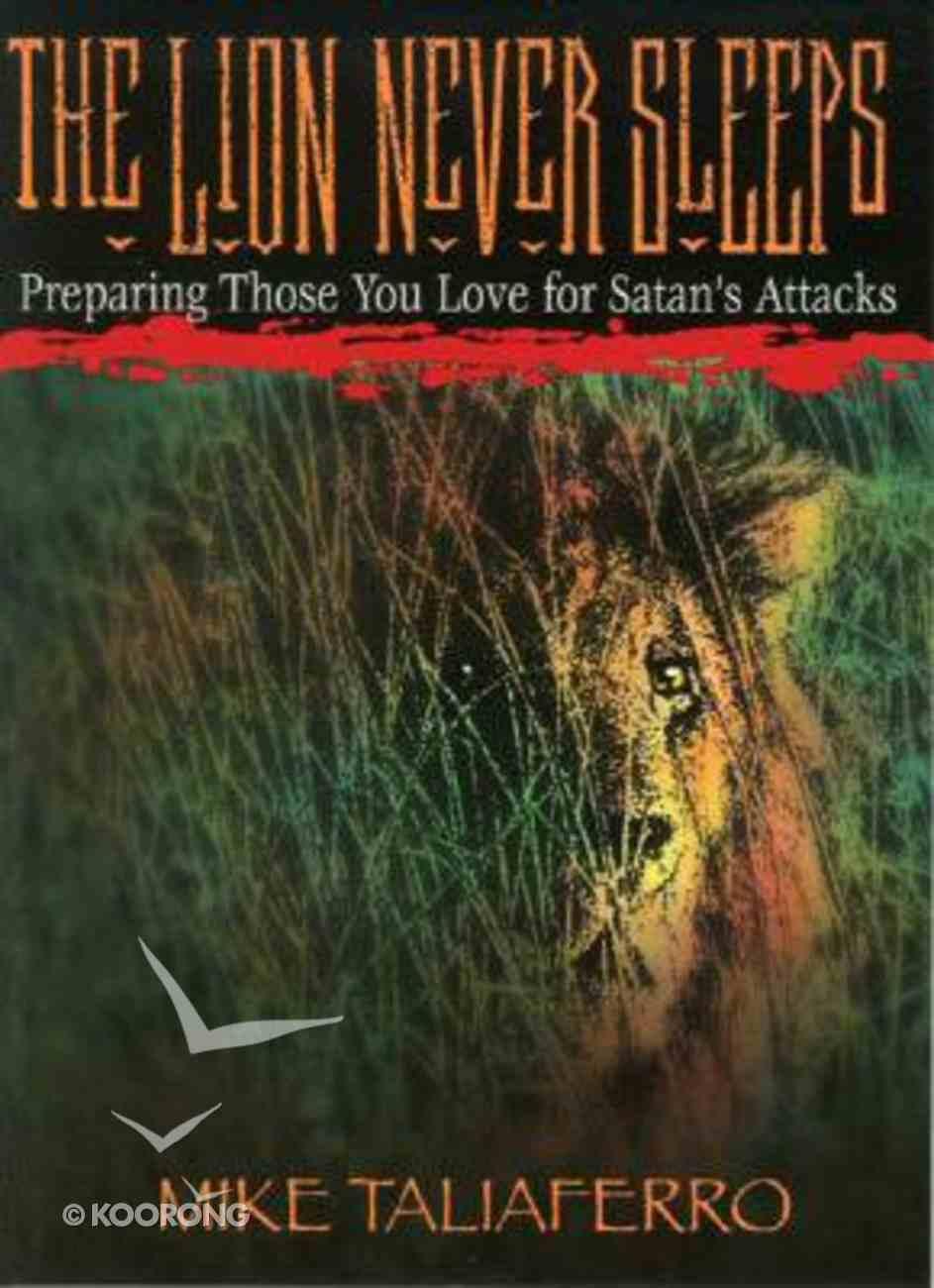The Lion Never Sleeps Paperback