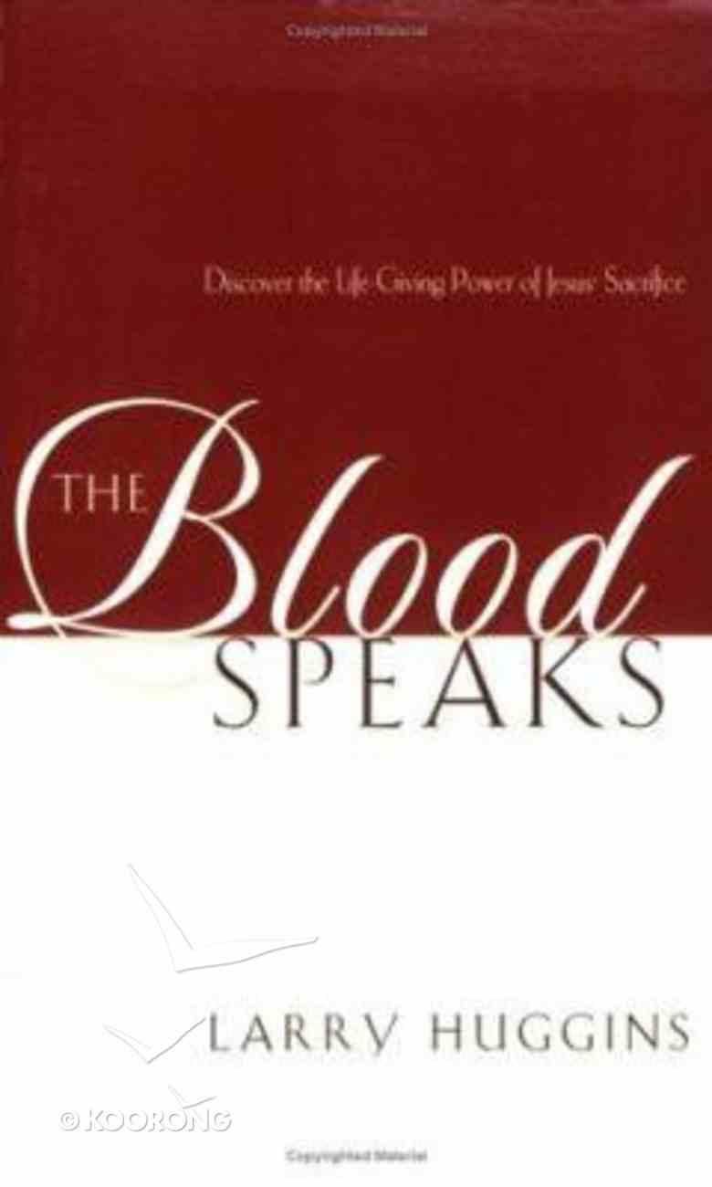 The Blood Speaks Paperback