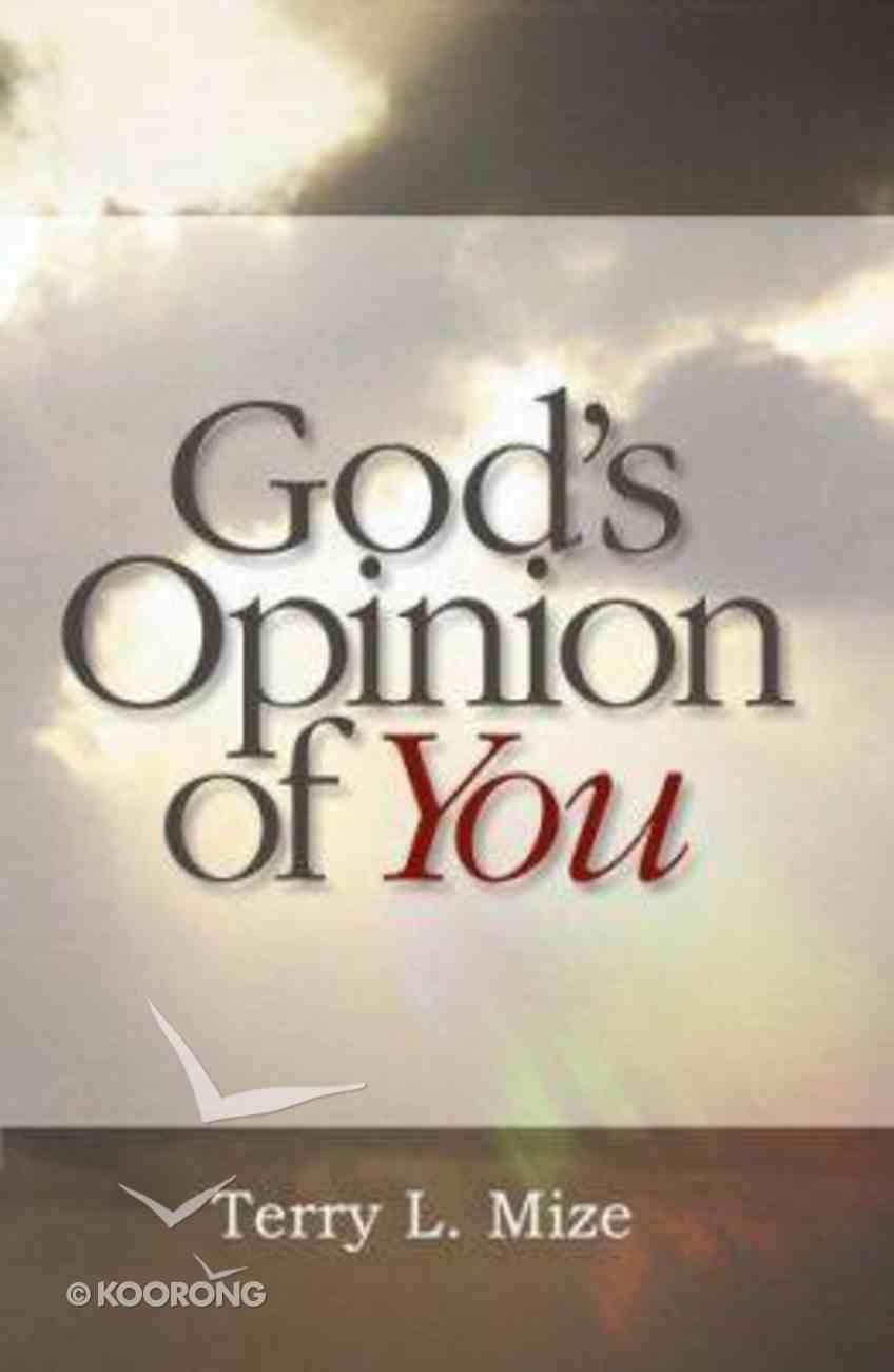 God's Opinion of You Booklet