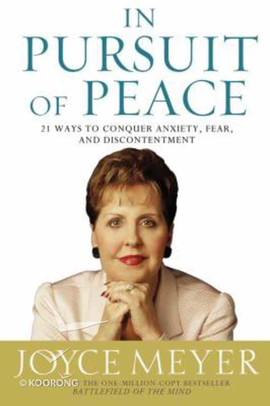 In Pursuit of Peace CD