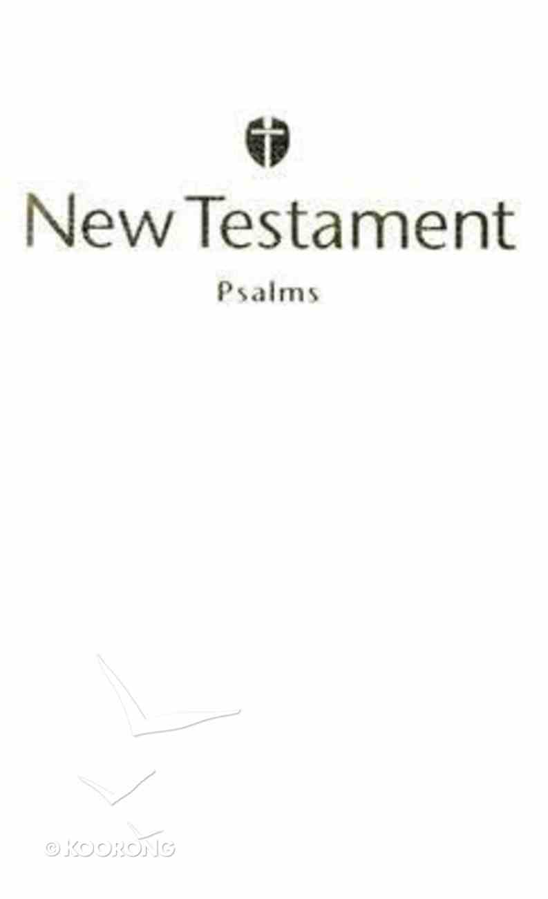 HCSB Economy New Testament With Psalms White (Red Letter Edition) Imitation Leather