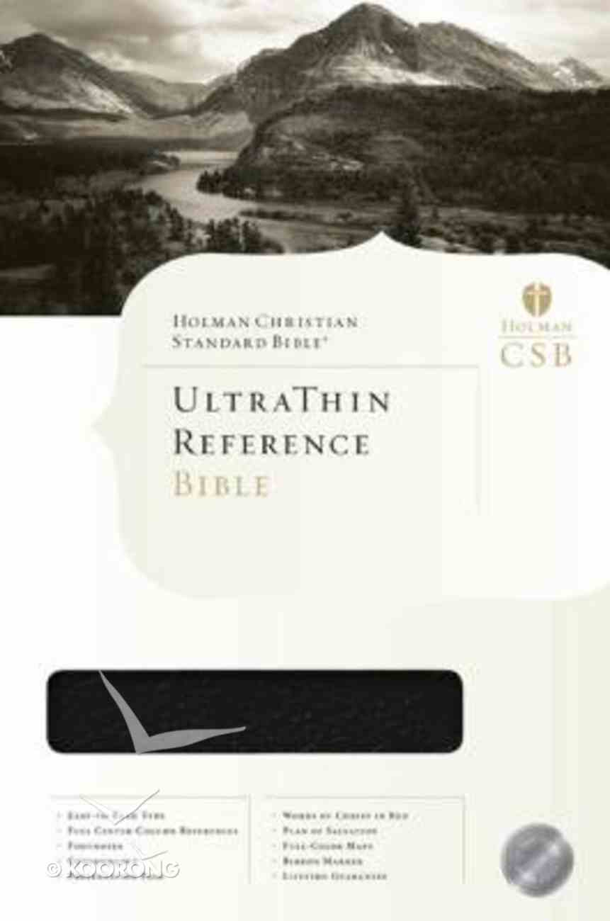 HCSB Ultrathin Reference Black Genuine Leather