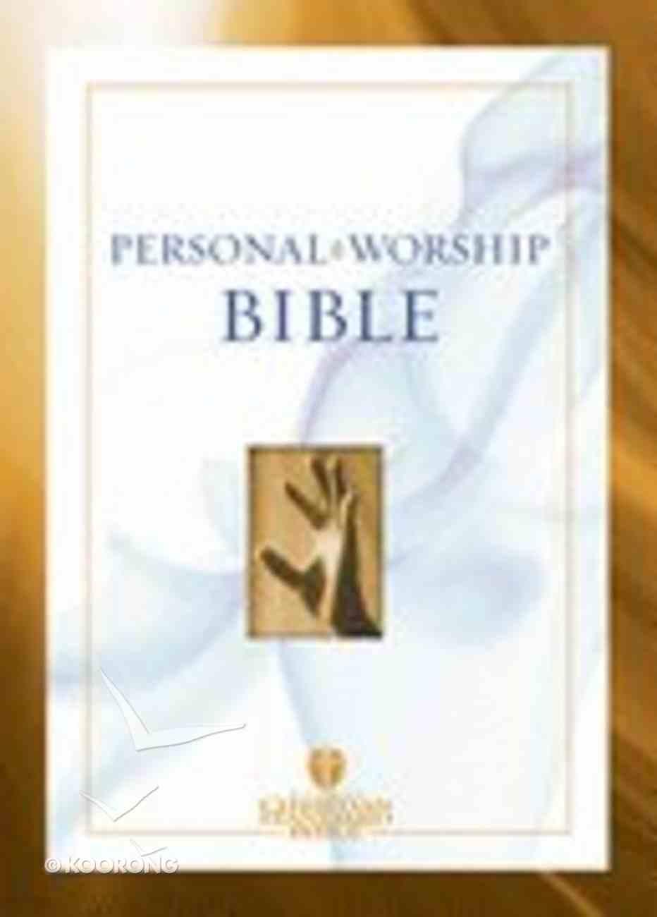 HCSB Pocket Personal Worship Bible Imitation Leather