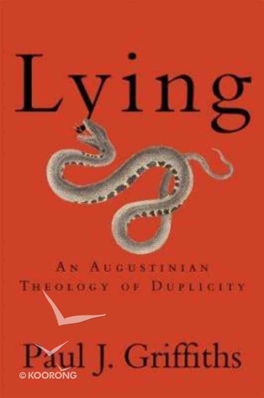 Lying Paperback