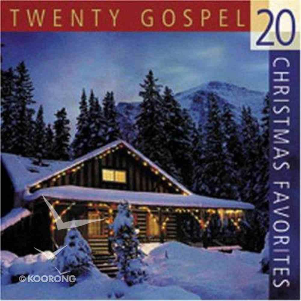 20 Gospel Christmas Favorites CD