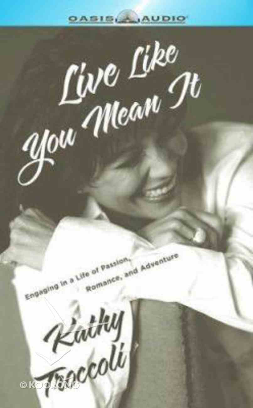 Live Like You Mean It CD