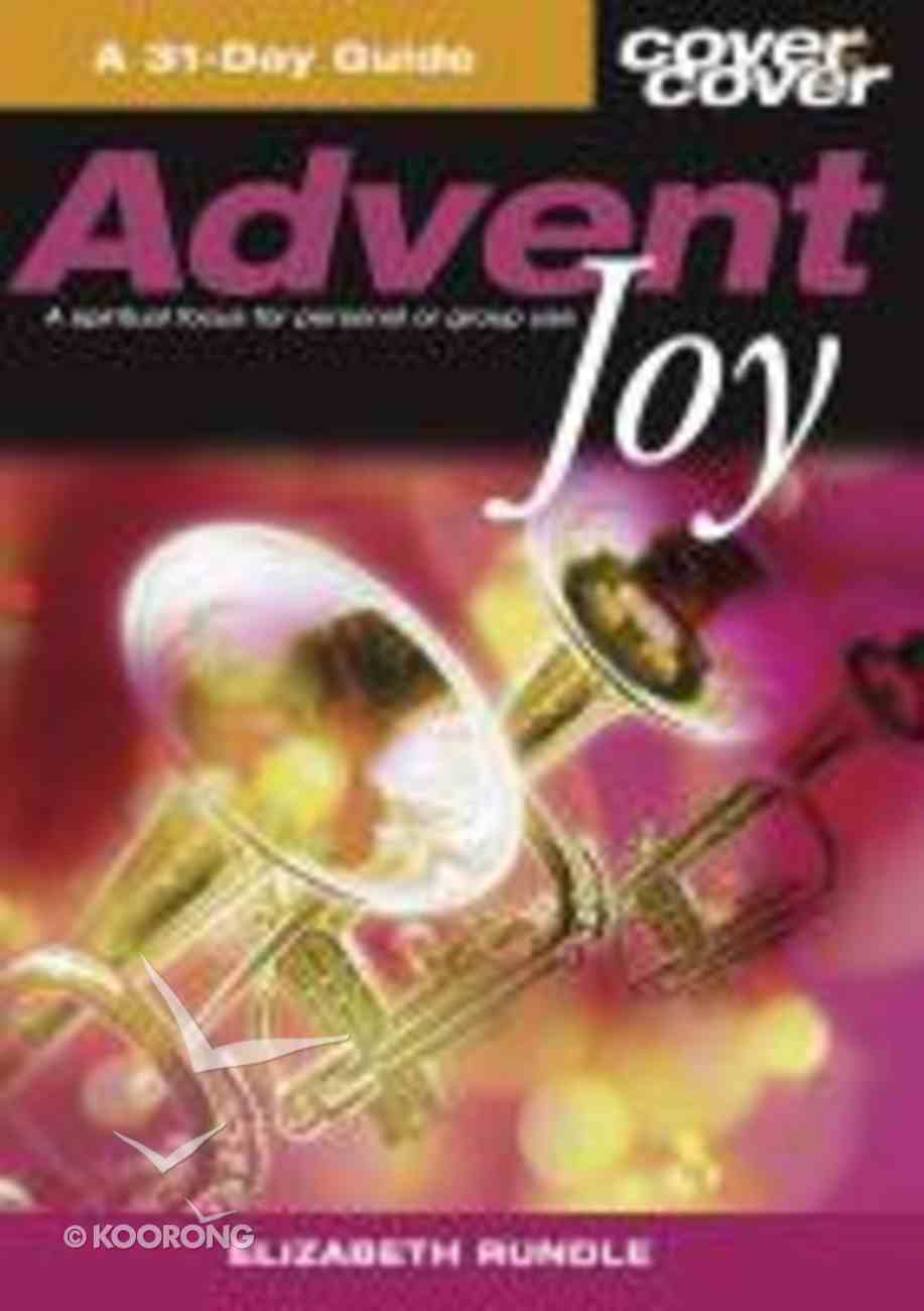 Advent Joy (Cover To Cover Series) Paperback