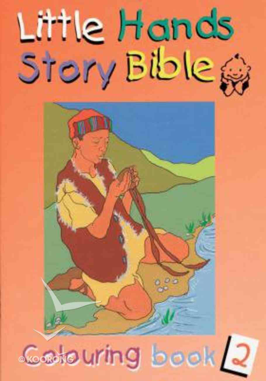 Little Hands Colouring Book #02 (#02 in Little Hands Story Bible Series) Paperback