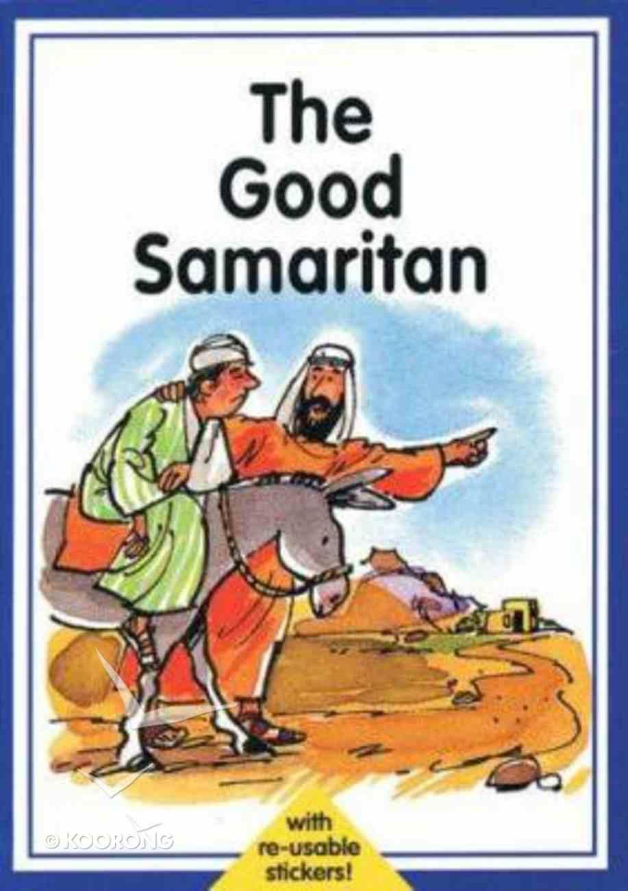 Good Samaritan (Collect A Bible Story Sticker Series) Paperback