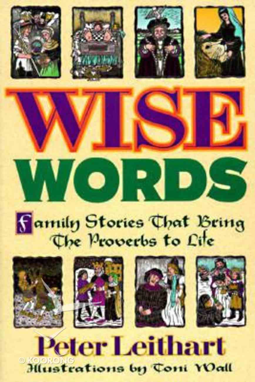 Wise Words Paperback