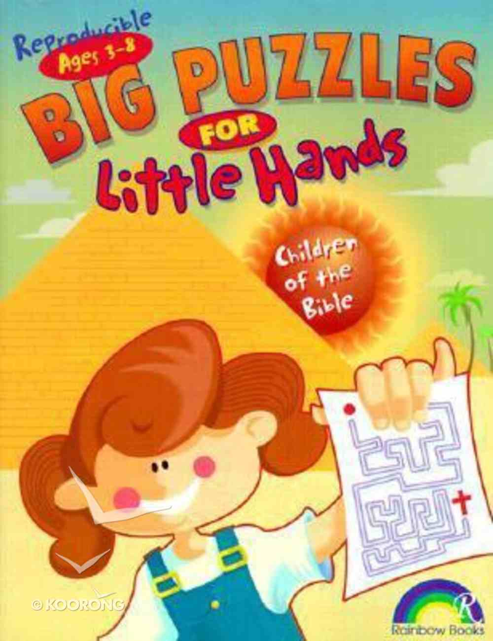 Big Puzzles For Little Hands: Children of the Bible (Reproducible) Paperback