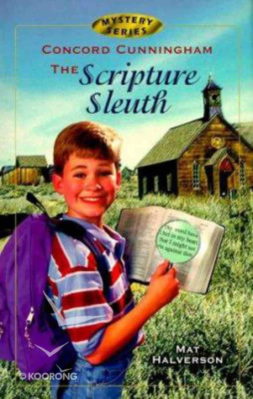 Scripture Sleuth (#01 in Concord Cunningham Mysteries Series) Paperback