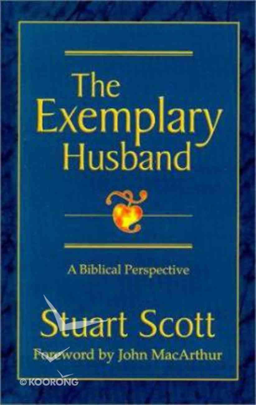 The Exemplary Husband Hardback