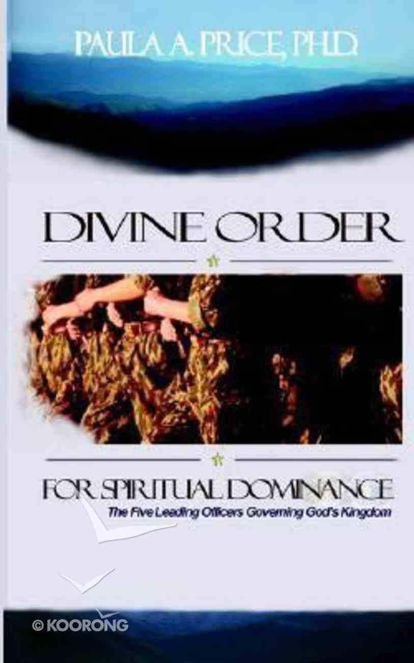 Divine Order For Spiritual Dominance Hardback