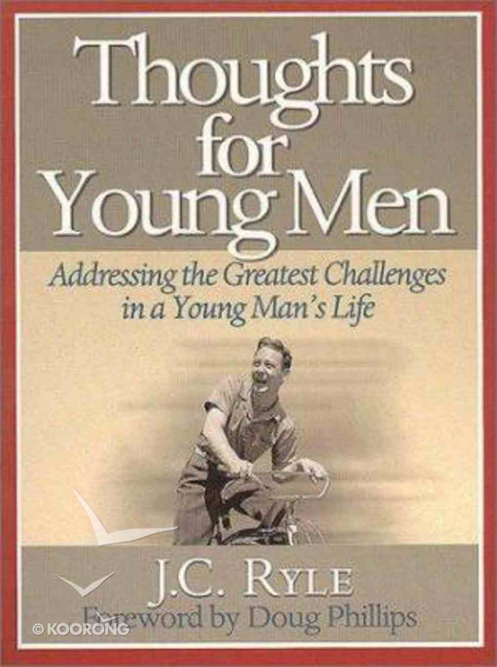 Thoughts For Young Men Paperback